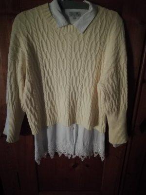 Bleifrei Pull tricoté jaune