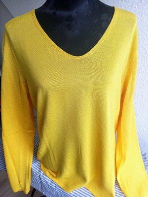 *neuer* Pullover gelb L