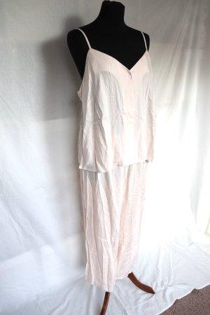 Neuer Pyjama Schlafanzug von H&M Größe L 40 42 Culotte Top