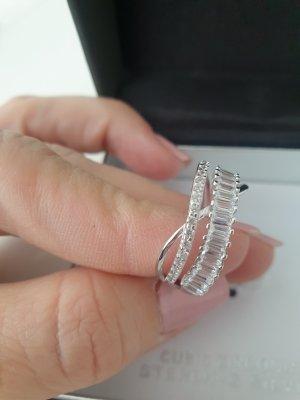 primrose Srebrny pierścionek srebrny