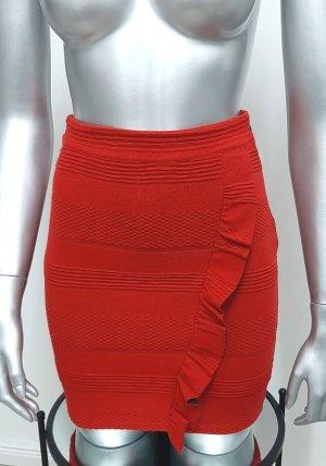 Even & Odd Mini rok rood-baksteenrood