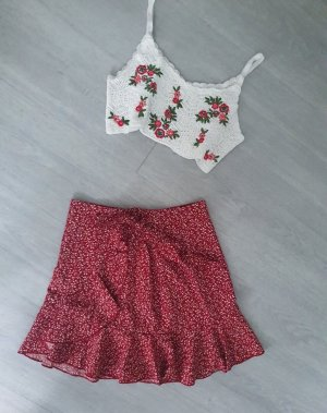 True Vintage Wraparound Skirt multicolored