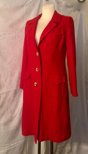 Milly Cappotto in lana rosso Lana