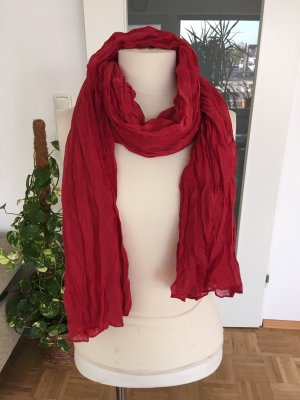 Tube Scarf red-dark red