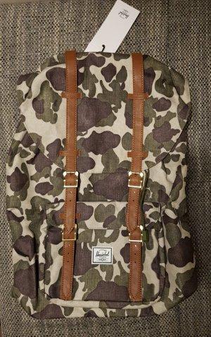 neuer rucksack von herschel camuflage