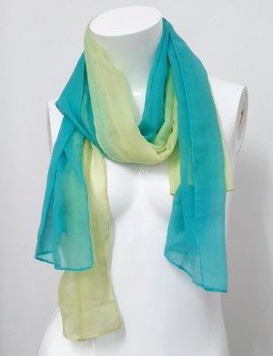 Neuer Schal grün mint 2 Tücher Tuchschal