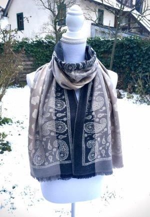 0039 Italy Zijden sjaal veelkleurig Zijde