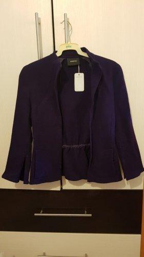 Akris Blazer corto violeta oscuro