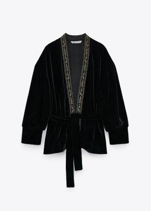 Zara Blusón negro