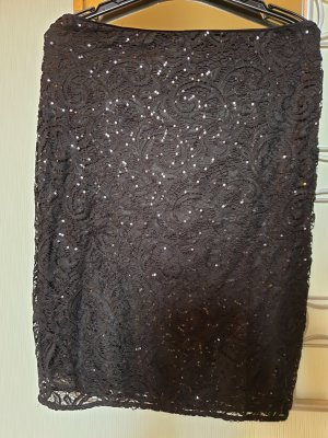 Anna Field Lace Skirt black