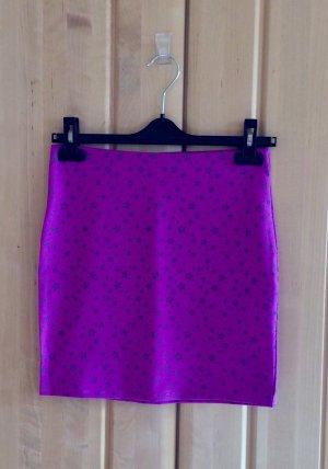 FB Sister Minifalda lila-gris claro Poliéster