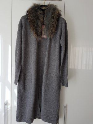 Princess goes Hollywood Knitted Coat grey mixture fibre