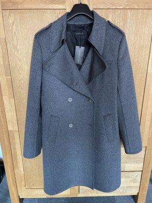 Strenesse Wool Coat grey wool
