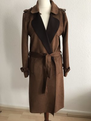 Skórzany płaszcz Wielokolorowy