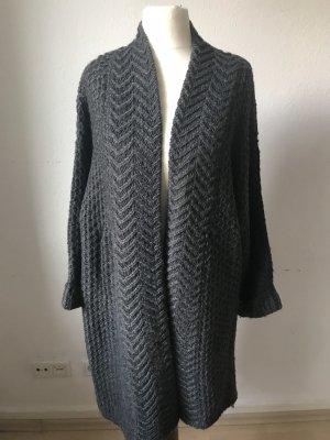 Yessica Cappotto a maglia antracite