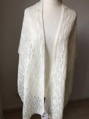 H&M Wollen sjaal wolwit