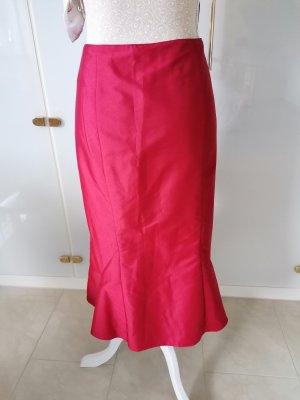 Vera Mont Tafzijde rok roodbruin