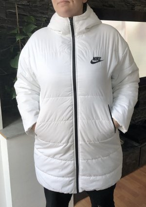 Neuer weißer Nike Mantel L/XL