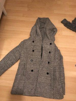100% Fashion Manteau d'hiver gris clair-gris