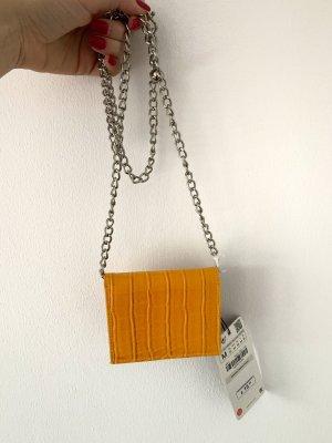 Zara Borsa clutch arancione