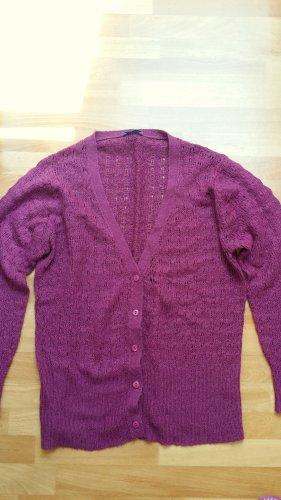 neuertiger Cardigan/ in violett / Gr. M