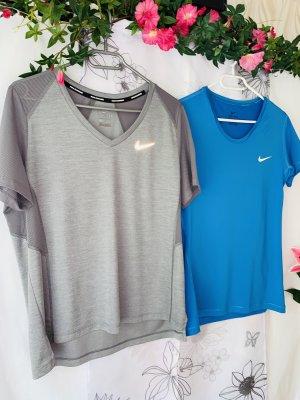 NEUES 2-er SET >> NIKE << Damen Sport Shirts Gr. L 38/40