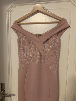 Neues Abendkleid, Gr.40/UK12, Farbe:Nude
