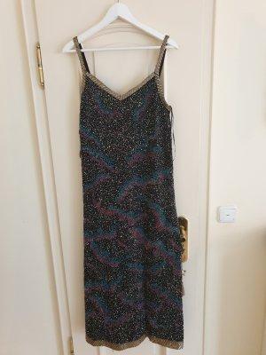 Neues Abendkleid mit Pailetten von Zara, Gr. L
