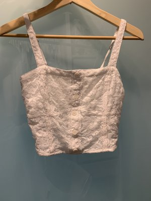 Neues Abercrombie Spitzen-cropped Top