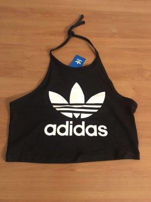 Adidas Top senza maniche nero-bianco