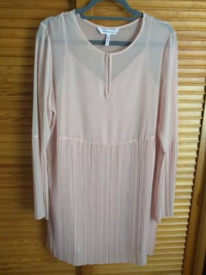 BCBGeneration Chiffon Dress dusky pink