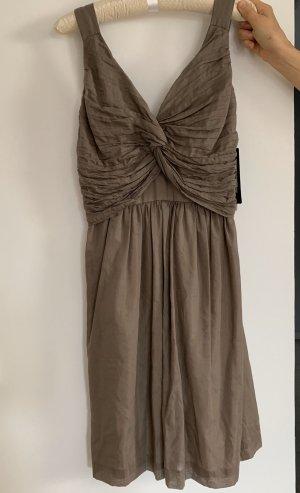 Ana Alcazar Midi Dress grey brown