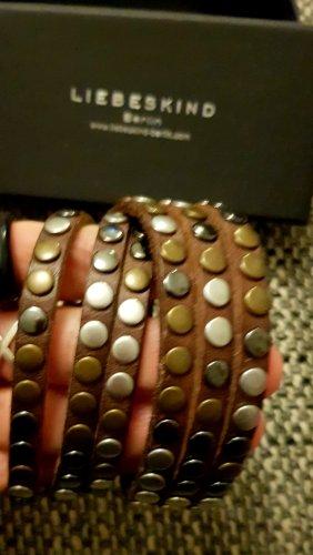 Liebeskind Bracelet silver-colored-brown