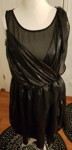 neues ausgefallenes Kleid von Religion gr l schwarz