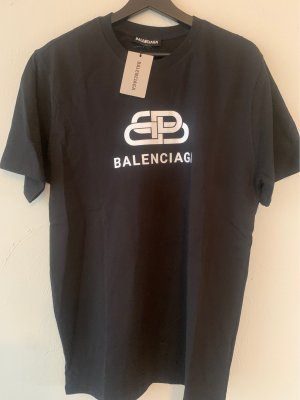 Balenciaga T-Shirt black-white