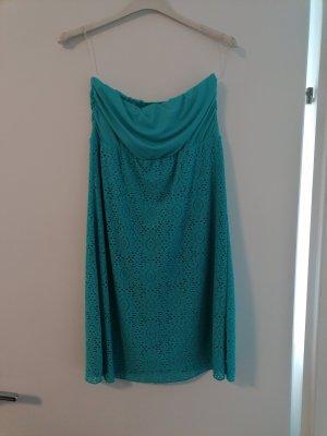 Calzedonia Vestido bandeau turquesa