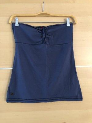 edc by Esprit Top a fascia blu scuro-blu