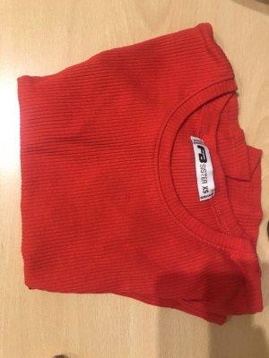 FB Sister Ribbed Shirt red