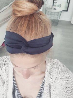 selfmade Wstążka do włosów niebieski-ciemnoniebieski