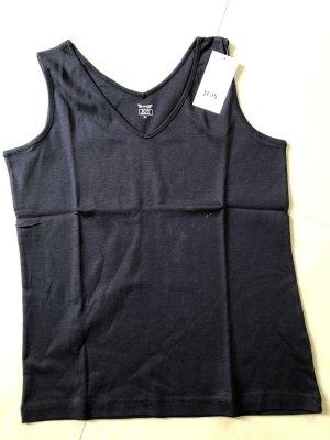 Joy T-shirt blu scuro Cotone