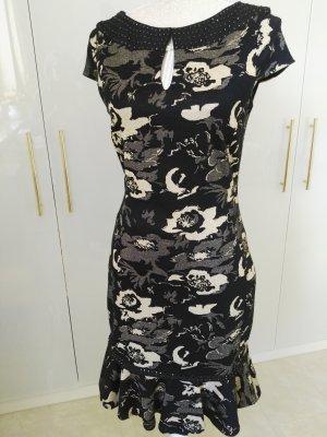 Badgley Mischka Stretch Dress black-cream