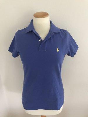 Ralph Lauren Polo bleu-jaune coton