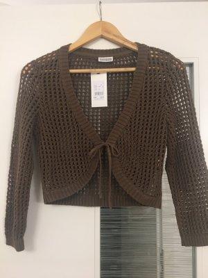 Street One Knitted Bolero brown