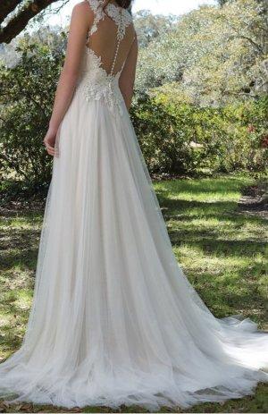 Sweetheart Robe de mariée blanc-vieux rose