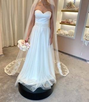 Cymbeline Paris Abito da sposa bianco