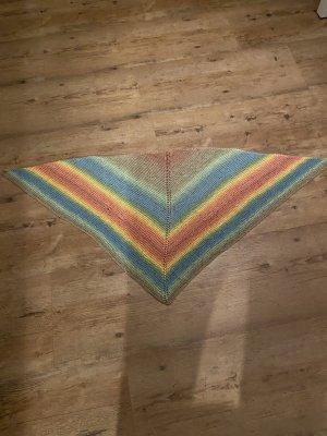 Hand made Bufanda de punto multicolor