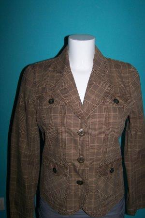 C&A Short Jacket beige-brown cotton