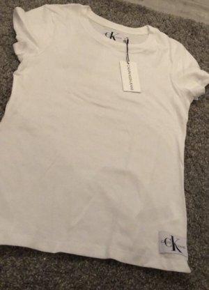 Neues Calvin Klein T-Shirt weiß