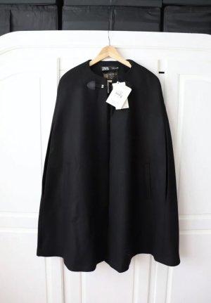 Neues Cape neuer Poncho von Zara Größe S mit Wolle