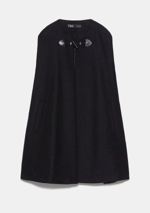 Neues Cape Poncho von Zara Größe S 36 38 mit Wolle
